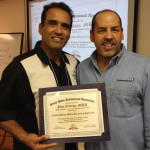 "Emmanuel ""Manny"" Sarmiento CEO and founder of New Media New Marketing. WordPress Certificate of Completion WordPress Training Evening in Miami."